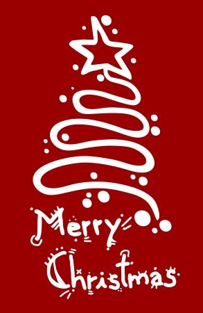 Merry Christmas elegant design card Stock Vector - 16622055