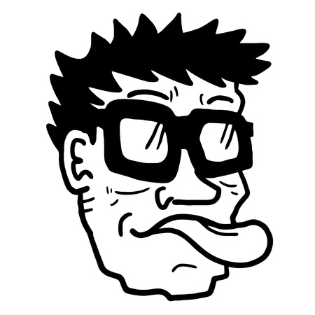 joking: Silly face draw