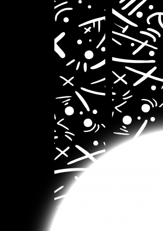 flash point: Black art wallpaper design