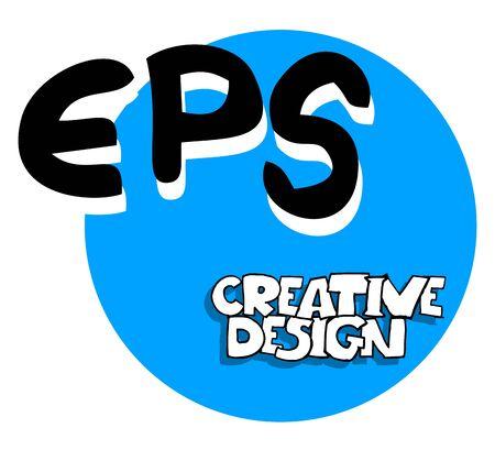 acronyms: Creative design icon Illustration