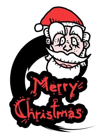 greybeard: Buon Natale icona Vettoriali