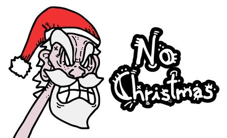 No Christmas Stock Vector - 16580322