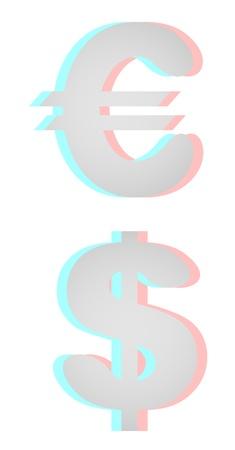 dimensinal: Money symbols