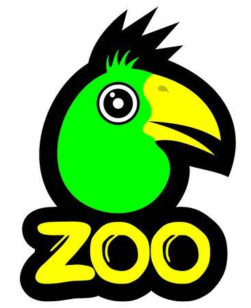 Funny bird Stock Vector - 16718284