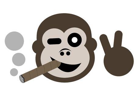 Funny smoke