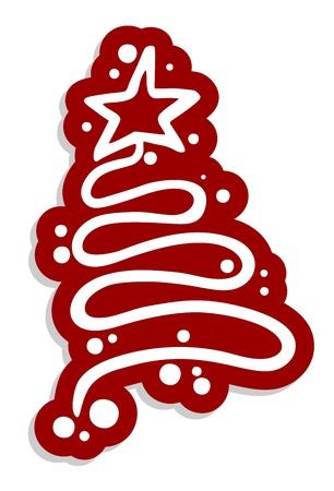 Christmas elegant symbol Stock Vector - 16816081