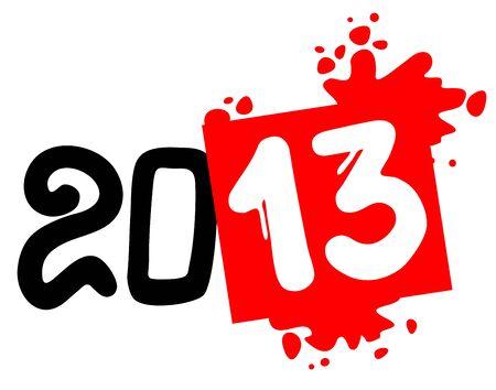 2013 art sign Illustration