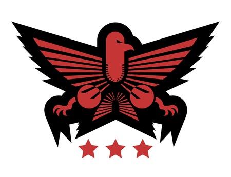 Eagle emblem Stock Vector - 16970605