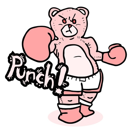 rebellious: Bear punch