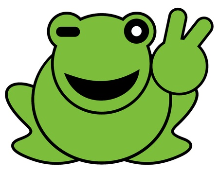 Winner frogg Stock Vector - 16970375