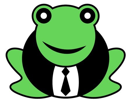 Elegant frog Stock Vector - 16974210