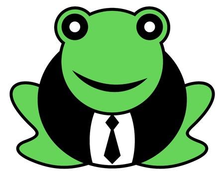 Elegant frog Stock Vector - 16974210