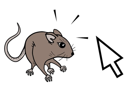 omnivorous: Funny computer mouse