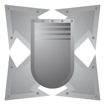 buckler: Armor metal Illustration