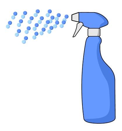 expel: Spray draw Illustration