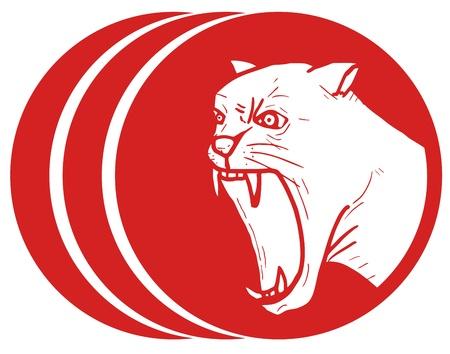 Hazard animal icon Stock Vector - 16974285