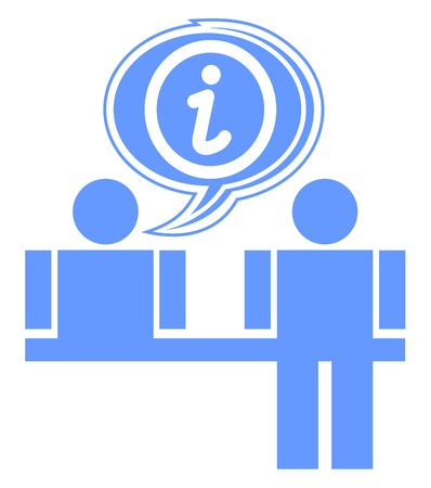 apparently: Information icon Illustration