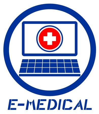 E-medical Stock Vector - 16974226