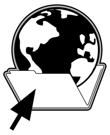 informatics: World folder cursor informatics