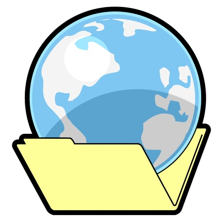 Public folder Stock Vector - 16974240