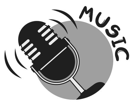 logo music: Voice music