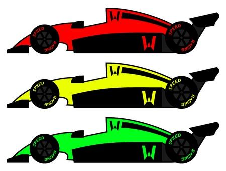 Speed car Stock Vector - 17265161