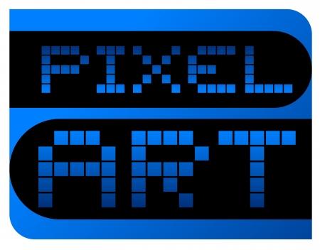 Pixel art Stock Vector - 17265162