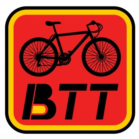 btt: BTT bike symbol