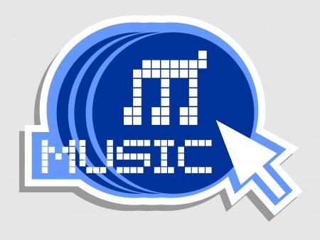 polyphony: Music arrow click