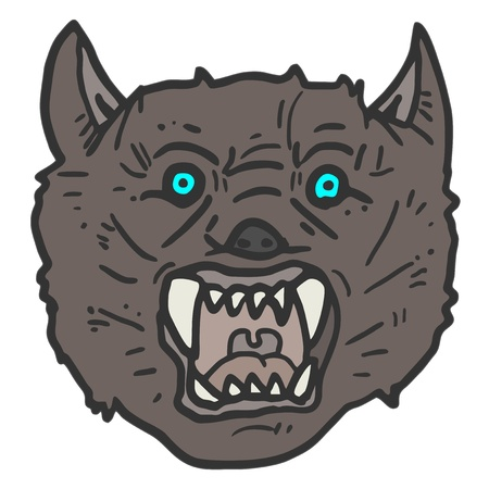 Wolf mask Stock Vector - 17265264