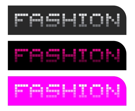 Fashion button Stock Vector - 17265207