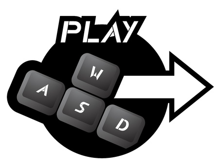 Play key icon Vector