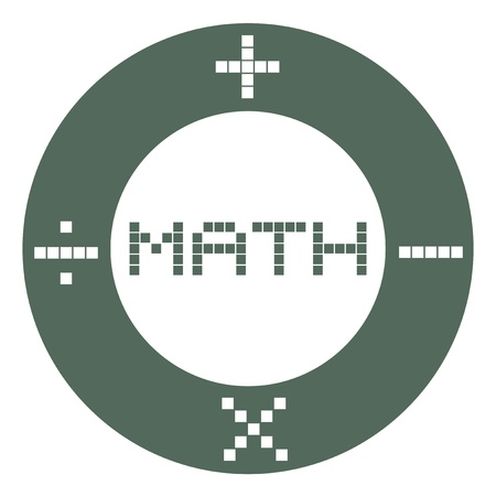 Math sign Stock Vector - 17216094
