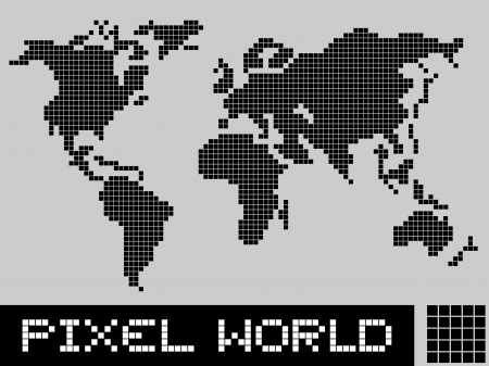 Pixel world Vector