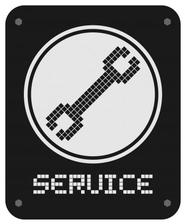 knowledgeable: Service emblem