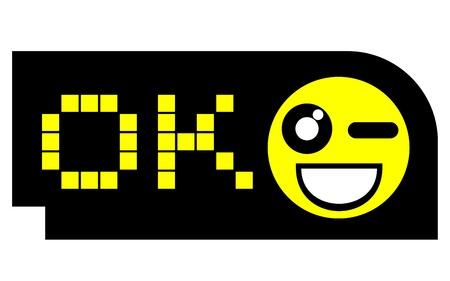 Smile creative card Stock Vector - 17346031