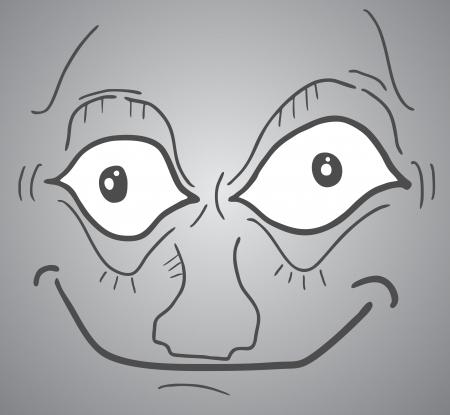 Smile face Stock Vector - 17346016