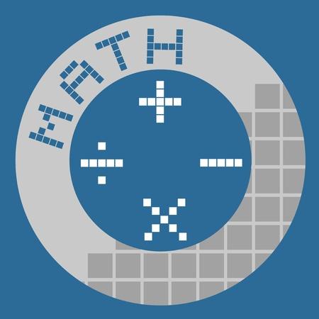 Math symbol design Stock Vector - 17346012
