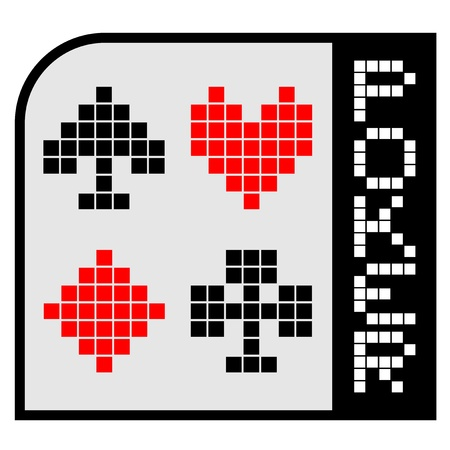 Poker icon Stock Vector - 17345980
