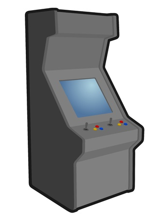 Retro game Vector