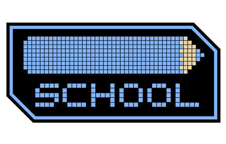 School symbol Stock Vector - 17311884
