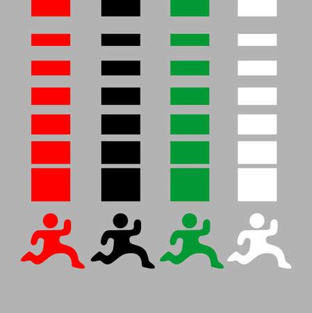 spacing: Color sport