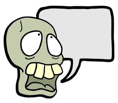 Funny skull Stock Vector - 17509454