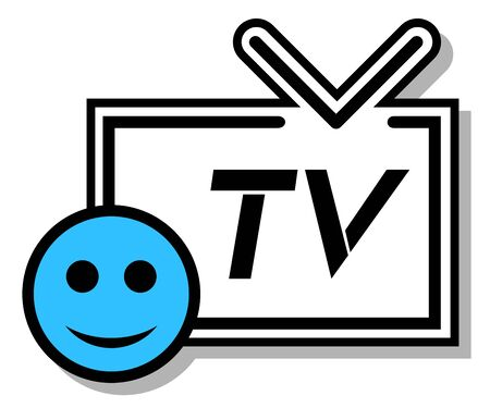 Smile television Stock Vector - 17509389