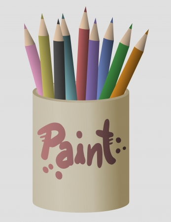 Art color paint Stock Vector - 17509486