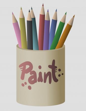 Art color paint Stock Vector - 17509486