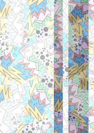 Color art vertical cover Illustration