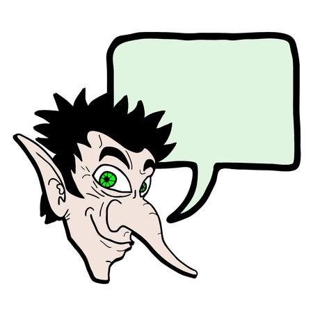 talkative: Elf talking