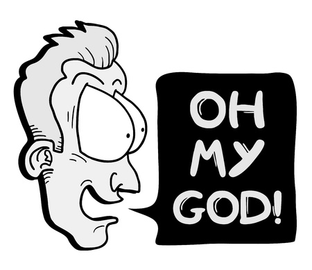 impacted: Oh my god message Illustration