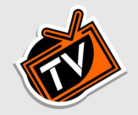Television icon Stock Vector - 17509386